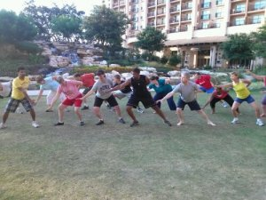 Morning Chi Gung at Kscope12