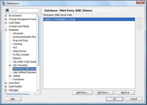 Tech Tip: Connect to SQL Server Using Oracle SQL Developer