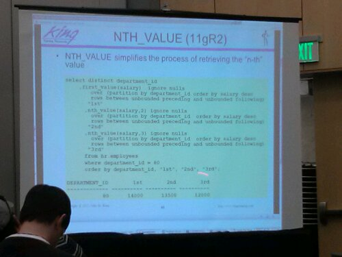 Another cool SQL Function: Nth Value