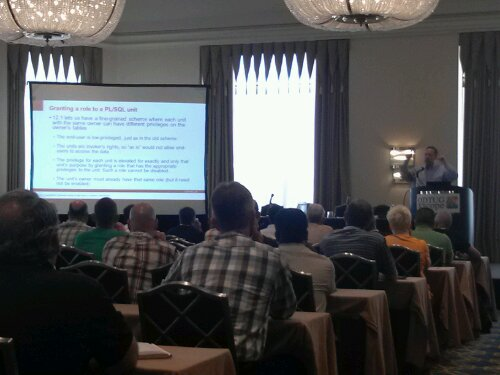 Tom Kyte (of AskTom.com fame) introduces attendees to new SQL and PL/SQL features in Oracle 12c