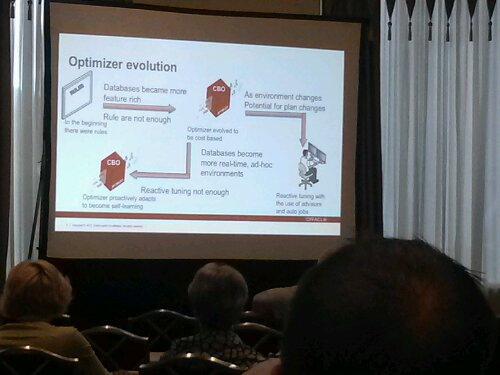Oracle Product Manager, Maria Colgan, discusses the Evolution of the Oracle Optimizer: Rules based to 12c