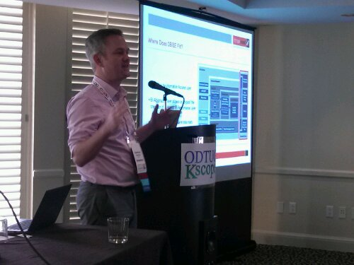 Oracle ACE Stewart Bryson talks about how he used OBIEE to create a virtual data mart on top of a Data Vault style EDW model