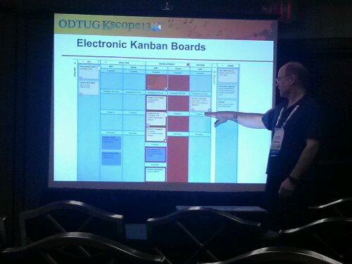 Stew Stryker, from Dartmouth College, discusses how his team has use Kanban, and now SCRUM, to improve their software development process.