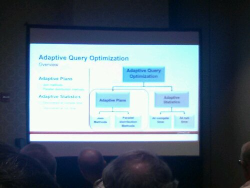 Overview of how adaptive query optimization works on Oracle 12c