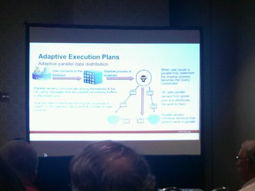 How the new Adaptive Execution Plans work in Oracle 12c