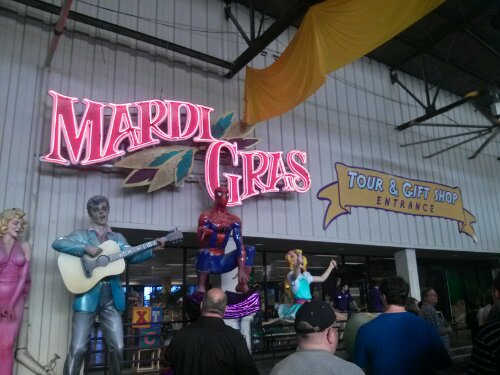 The annual Special Event was held at Mardi Gras World where we got to see some of the big floats from the famous parade.