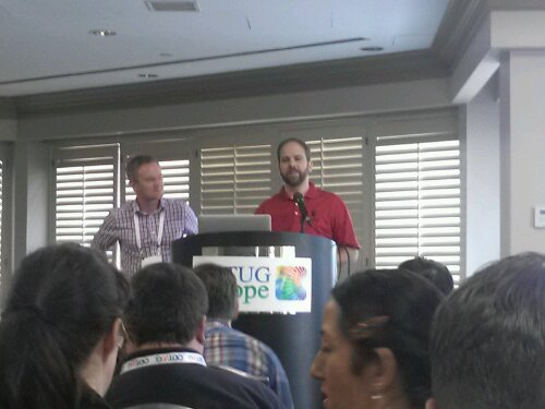 A KScope 1st: Stewart Bryson and Edward Roske do a joint presentation on using OBIEE against both Essbase and a relation data warehouse at the same time.