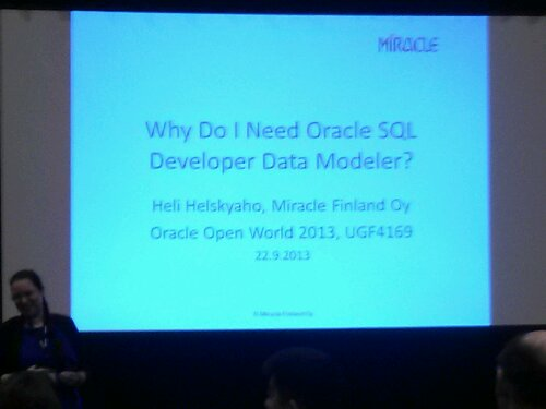 Heli Helskyaho: Why do I need #SQLDevModler?
