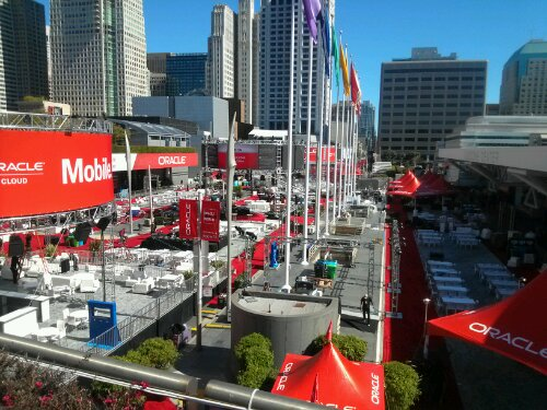 OOW13: The New Oracle Plaza