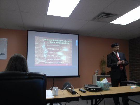 Denodo - Suresh presenting