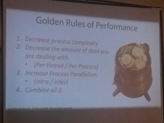 Dan's Rules of Performance