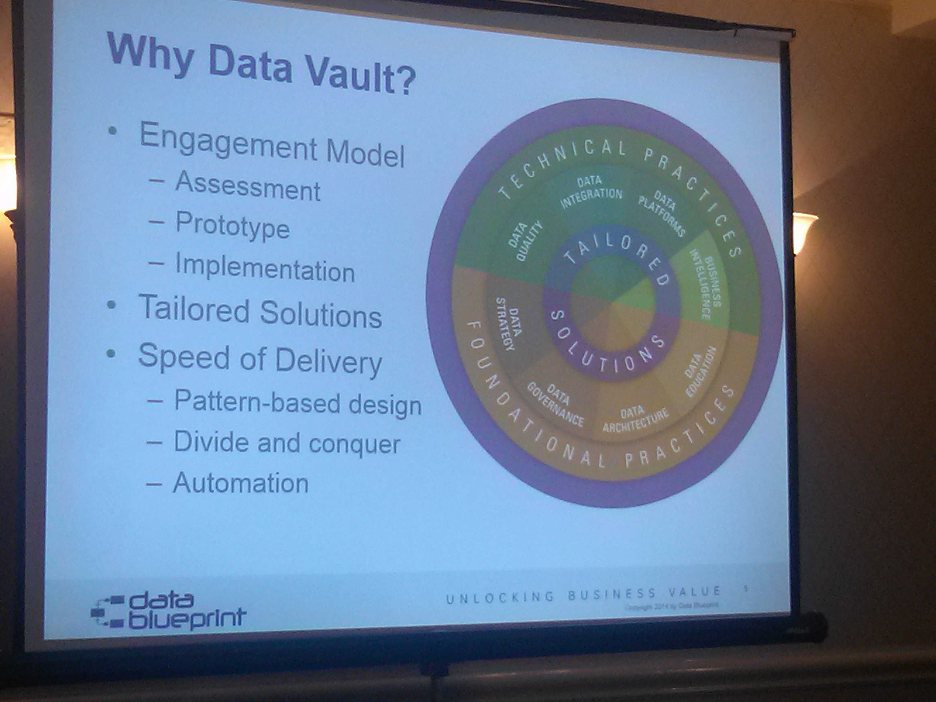 Why Data Blueprint decided to use DV as their consulting