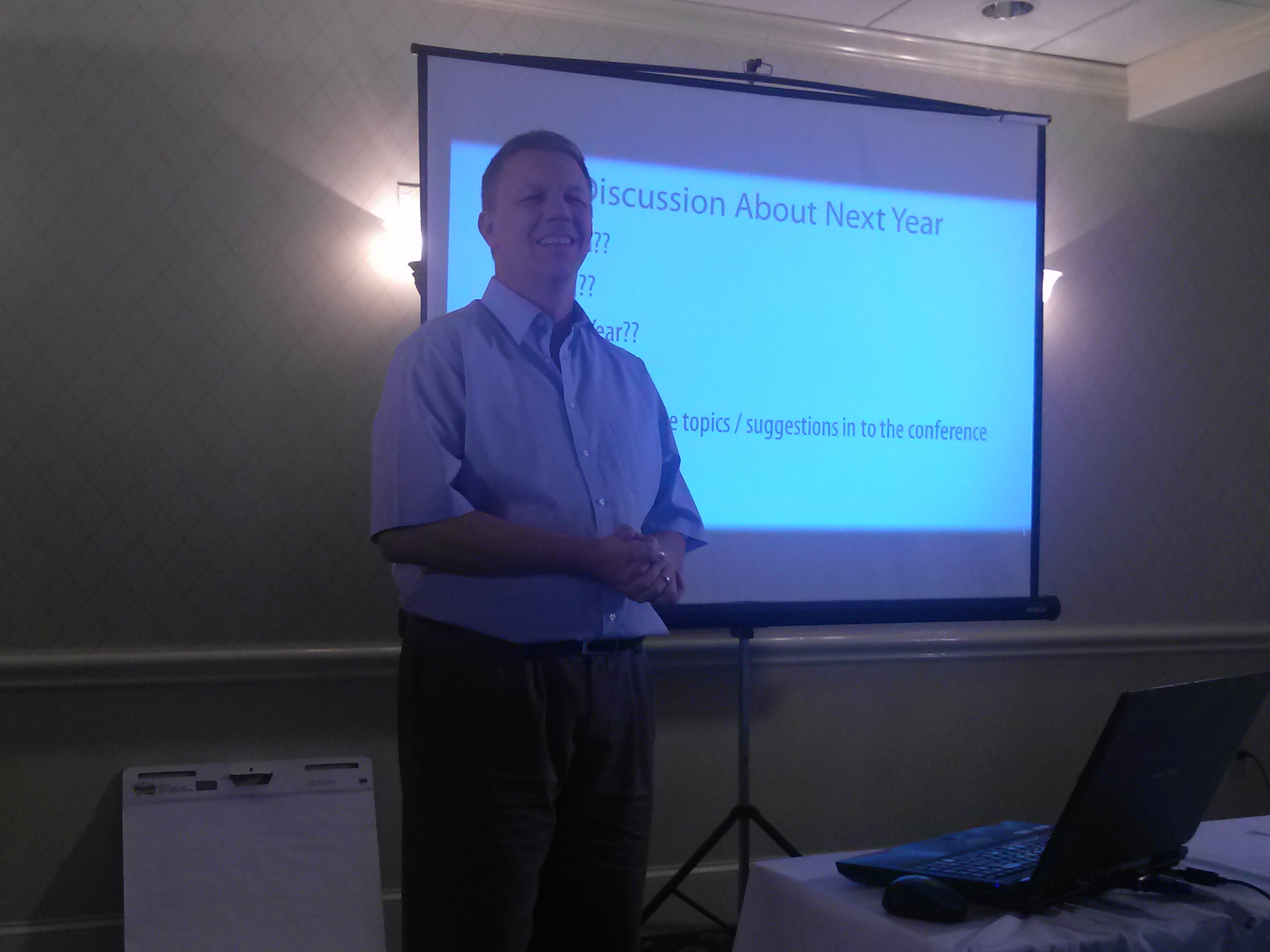 Dan closes out the 1st Annual WWDVC and asks about next year - where and when?