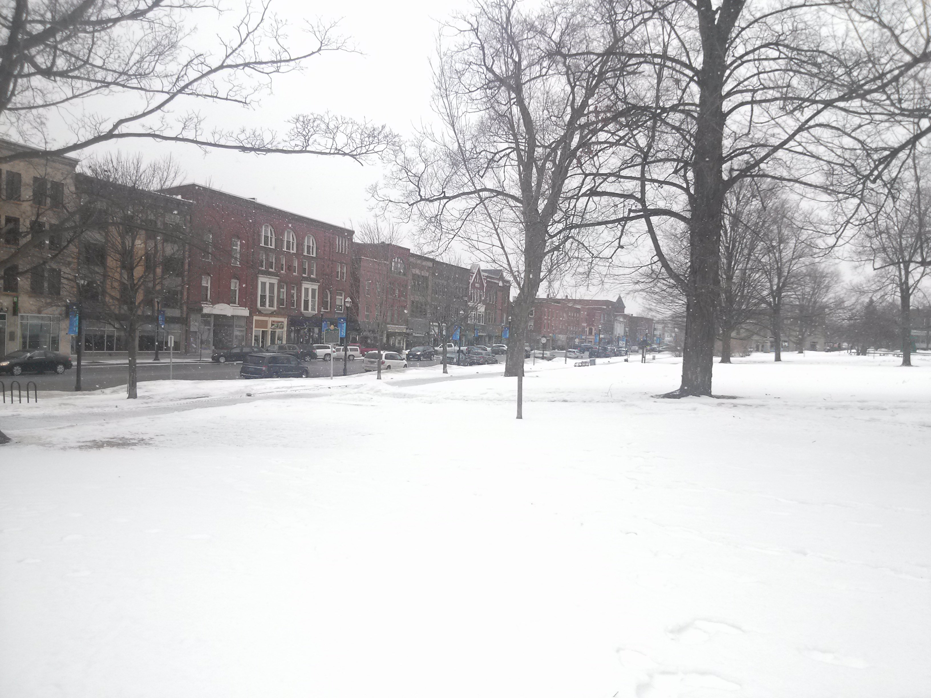 Snowy St Albans