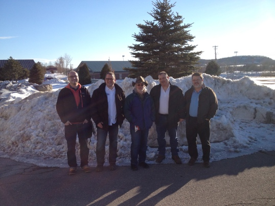 Data Vault geeks from around the world in snowy St Albans, Vermont